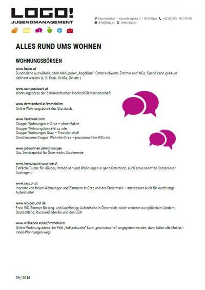 Vorschaubild Infoblatt Wohnen