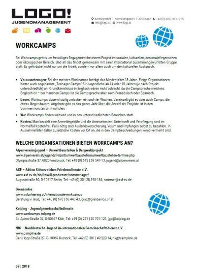 Vorschaubild Infoblatt Workcamps