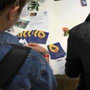 Jugendliche holen sich Infos zur EU-Wahl