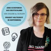Portrait Jana Schepanski aus Deutschland