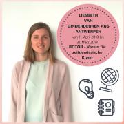 Portraitbild von Liesbeth van Ginderdeuren - eine europäische Freiwillige aus Belgien