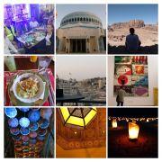 Verschiedene Bilder über Jordanien
