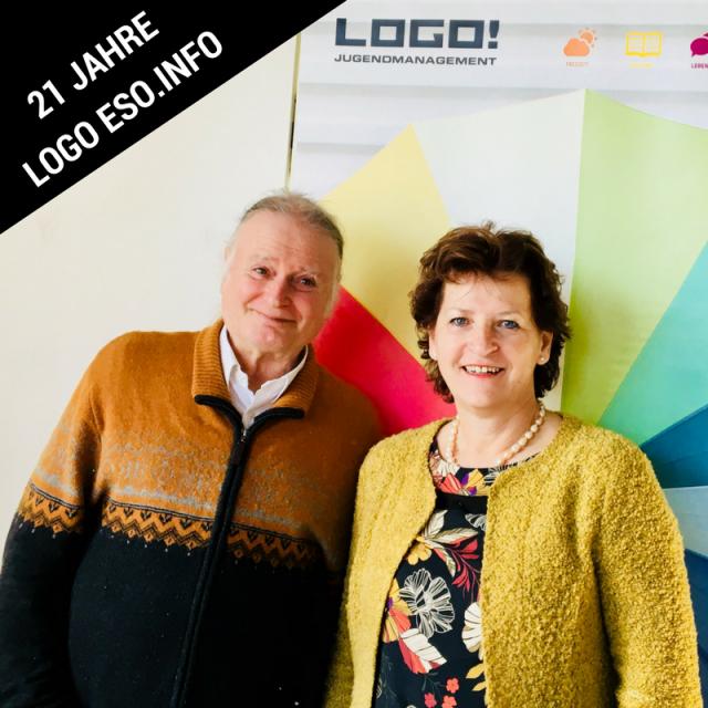 Landesrätin Mag.a Ursula Lackner und Dr. Roman Schweidlenka über 21 Jahre LOGO ESO.INFO