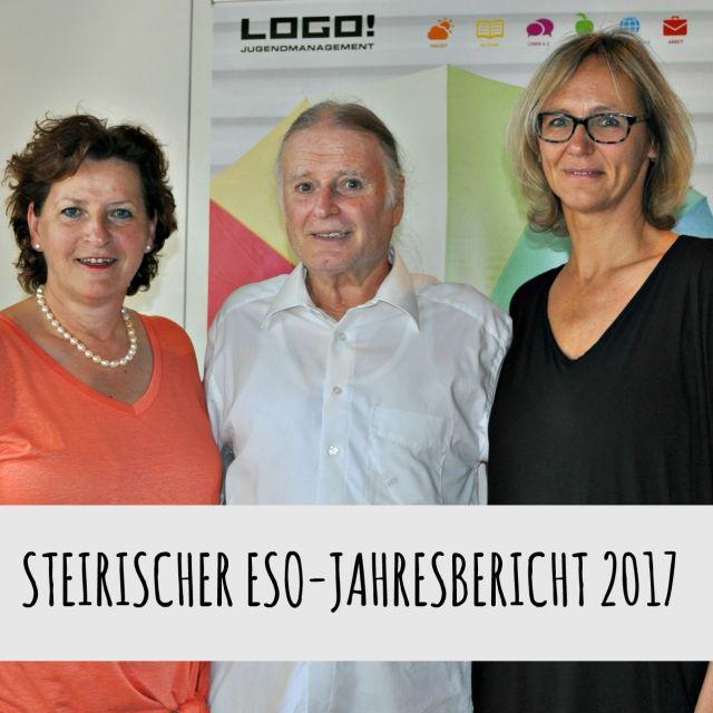 Bild von Landesrätin Mag. Ursula Lackner, Dr. Roman Schweidlenka und Mag. Uschi Theißl bei der Pressekonferenz zum steirischen ESO-Jahresbericht