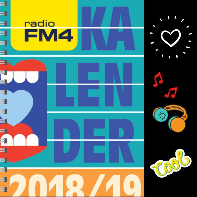 Cover FM4 Kalender 2018/19