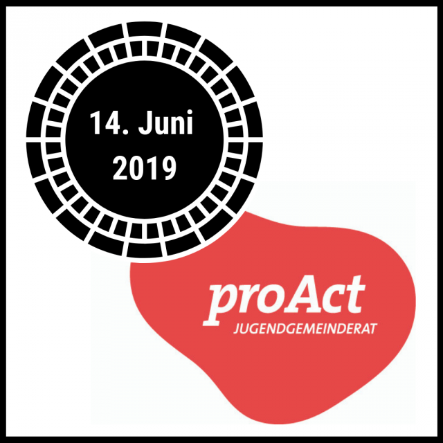 proAct Termin 2019 und rotes proAct Logo